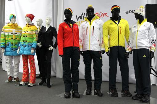Olympiaeinkleidung 2014