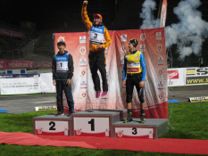 FIS Sommer-Grand-Prix, O´dorf, Siegerehrung, Johannes Rydzek