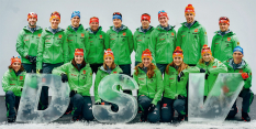 Nationalmannschaft Biathlon