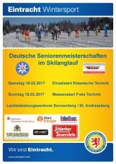 Deutsche Seniorenmeisterschaften Skilanglauf 2017