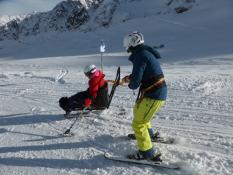 Fortbildung Kaunertal: Sitzender Skilauf