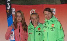 Nachtspringen Oberstdorf, Juliane Seifert, Katharina Althaus, Ramona Straub