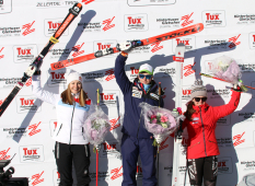 Telemark-Weltcup Hintertux, Siegerehrung Sprint