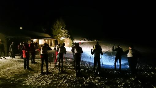 Skilanglauf-Nachtsprint im Rheinland