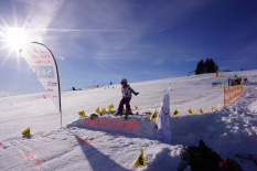 Grundschulwettbewerb Skispringen