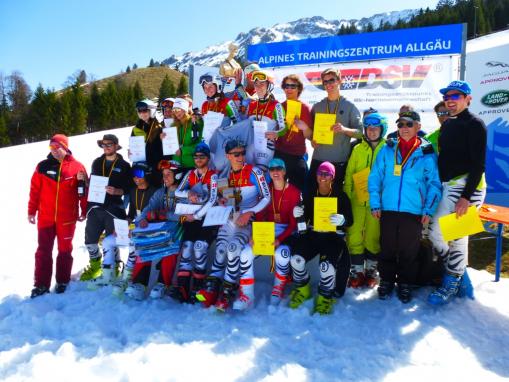 Deutsche Mannschaftsmeisterschaft Ski Alpin, Oberjoch, 08.04.2018