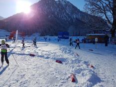 Mit Skitty zur Tour de Ski