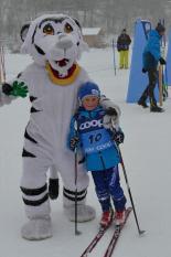 Skitty World Nordic bei der Tour de Ski