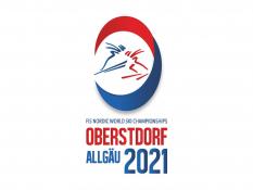 WM-Logo Oberstdorf 2021