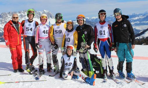 Int. Deutsche Meisterschaft Shortcarven Riesenslalom, Ellmau/Tirol