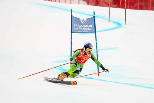 Johanna Holzmann, Telemark-Weltcup, Pralognan-la-Vanoise (FRA)