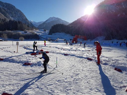 DSV-Talenttage Skilanglauf