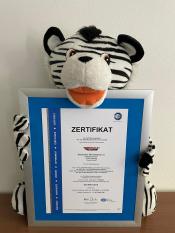 TÜV-Zertifikat Skitty