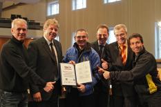 Unterzeichnung Kooperationsvereinbarung
