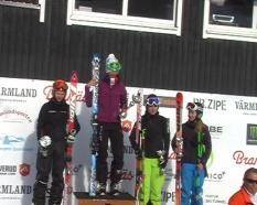Ski-Cross-Europacup in Branäs (SWE) 2011