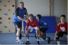 Kinder lernen Krafttraining